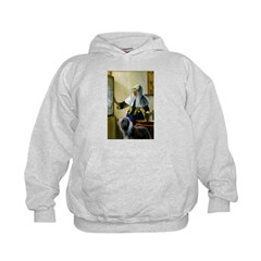 Pitcher / Bearded Collie Hoodie