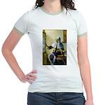 Pitcher / Bearded Collie Jr. Ringer T-Shirt