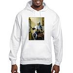 Pitcher / Bearded Collie Hooded Sweatshirt