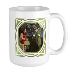 Little Red Riding Hood (Forest) Large Mug