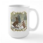 Bambi On Ice Large Mug