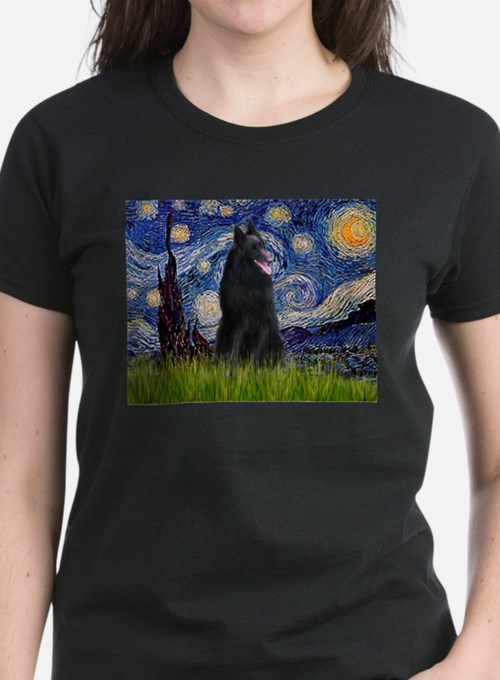 Starry Night /Belgian Sheepdog Tee