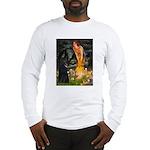 Fairies /Belgian Sheepdog Long Sleeve T-Shirt