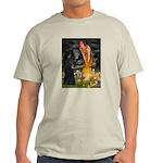 Fairies /Belgian Sheepdog Light T-Shirt