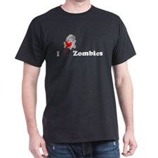 I Luv Zombies T-Shirt