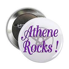 "Athene Rocks ! 2.25"" Button (10 pack)"