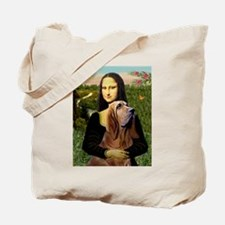 Mona & her Bloodhound Tote Bag