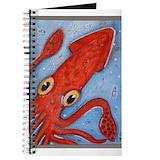 Squid Journals & Spiral Notebooks