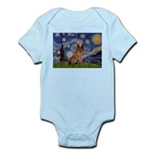 Starry Night Bloodhound Infant Creeper