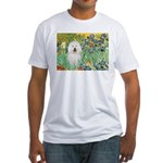 Irises & Bolognese Fitted T-Shirt