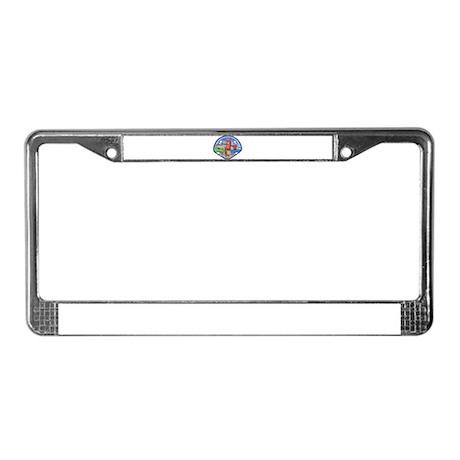Presidio Fire Department License Plate Frame