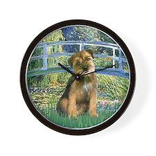 Bridge / Border Terrier Wall Clock