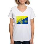 Gemeentepolitie Zandvoort Women's V-Neck T-Shirt