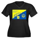Gemeentepolitie Zandvoort Women's Plus Size V-Neck