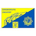 Gemeentepolitie Zandvoort Rectangle Sticker