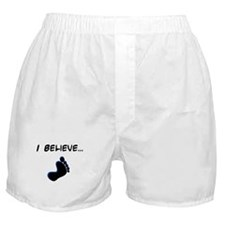 I believe in bigfoot Boxer Shorts