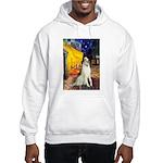 Terrace Cafe & Borzoi Hooded Sweatshirt