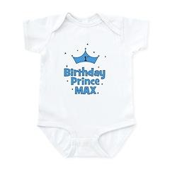 Max 1st Birthday Prince! Infant Bodysuit