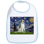 Starry Night & Borzoi Bib