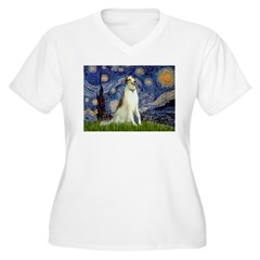 Starry Night & Borzoi T-Shirt