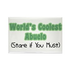 World's Coolest Abuelo Rectangle Magnet