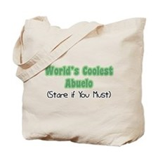 World's Coolest Abuelo Tote Bag