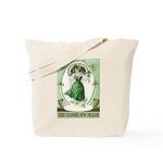 Irish Channel Woman Tote Bag