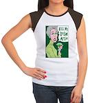Kiss My Irish Arse Women's Cap Sleeve T-Shirt