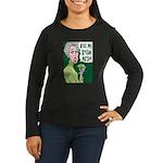 Kiss My Irish Arse Women's Long Sleeve Dark T-Shir