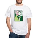 Kiss My Irish Arse White T-Shirt