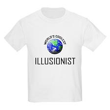 World's Coolest ILLUSIONIST T-Shirt