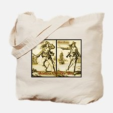 Girl Pirate- Anne Bonny/Mary Read Tote Bag