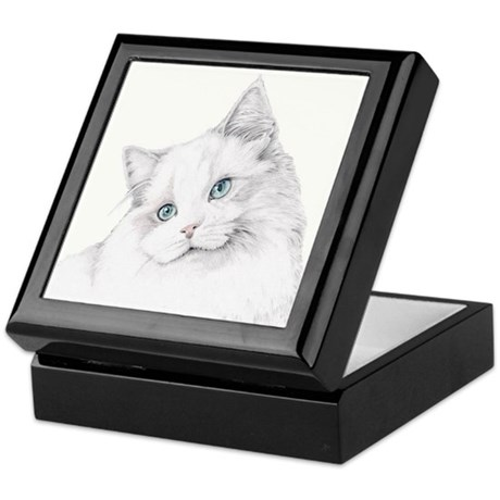 Kitty Cat Keepsake Box
