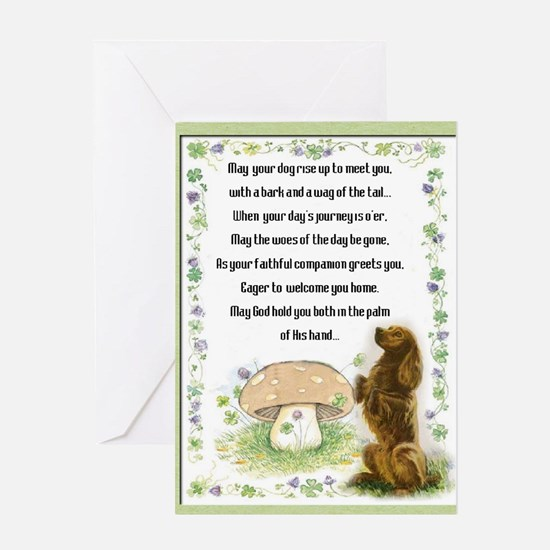 Blessing of the Dogs Greeting Card