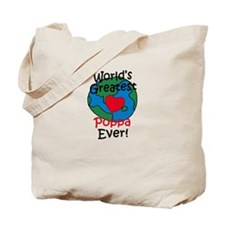 World's Greatest Poppa Tote Bag