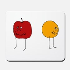 Apples and Oranges Mousepad
