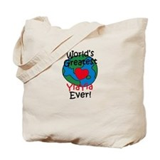 World's Greatest YiaYia Tote Bag