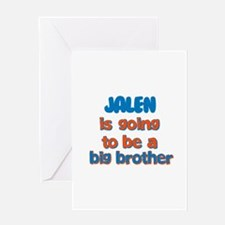 Jalen - Going to be Big Broth Greeting Card