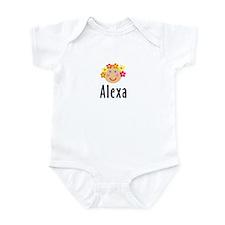 Alexa - Flower Girl Head Infant Bodysuit