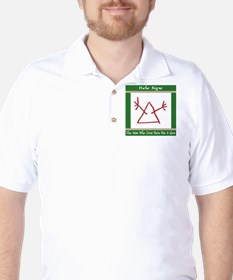 The Hobo Signs Golf Shirt
