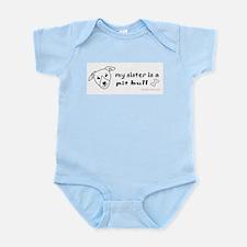 pit bull gifts Infant Bodysuit