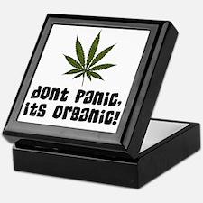 Dont panic, its organic! Keepsake Box