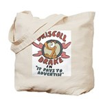 Retro Advertising Tote Bag