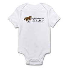 pit bull gifts Infant Bodysuit