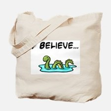 I Believe in the Loch Ness Mo Tote Bag