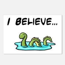 I Believe in the Loch Ness Mo Postcards (Package o