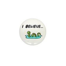I Believe in the Loch Ness Mo Mini Button (10 pack