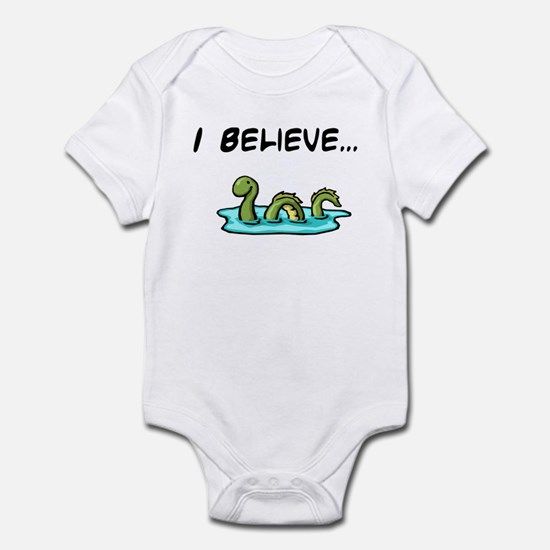 I Believe in the Loch Ness Mo Infant Bodysuit