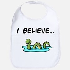 I Believe in the Loch Ness Mo Bib