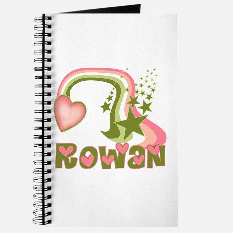 Rainbows & Stars Rowan Personalized Journal